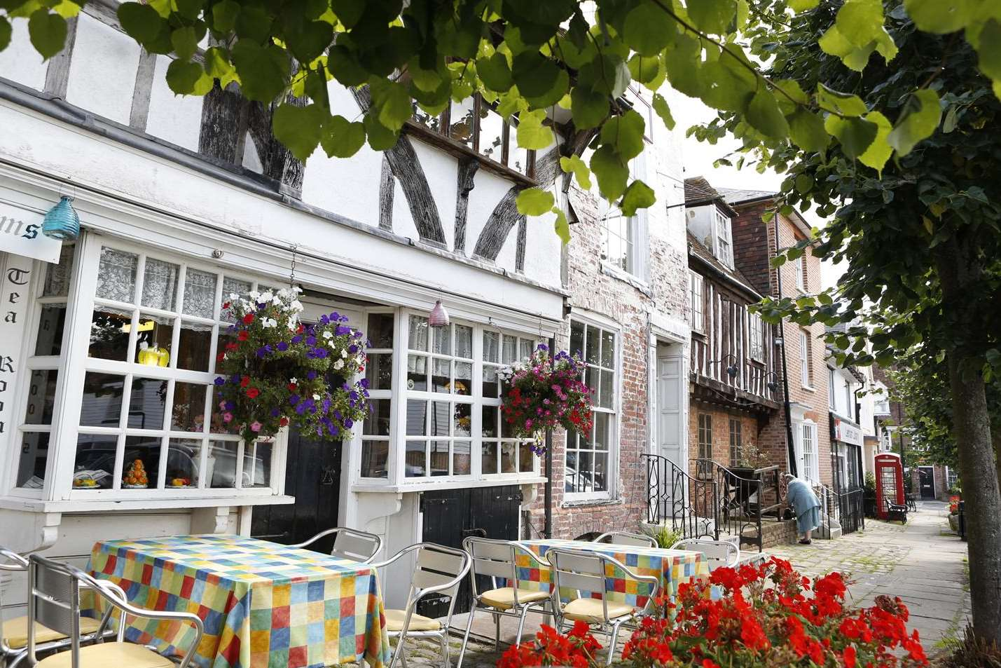 Opponents say Lenham's mix of commercial and historic buildings would be at risk if 1,745 new homes are built.
