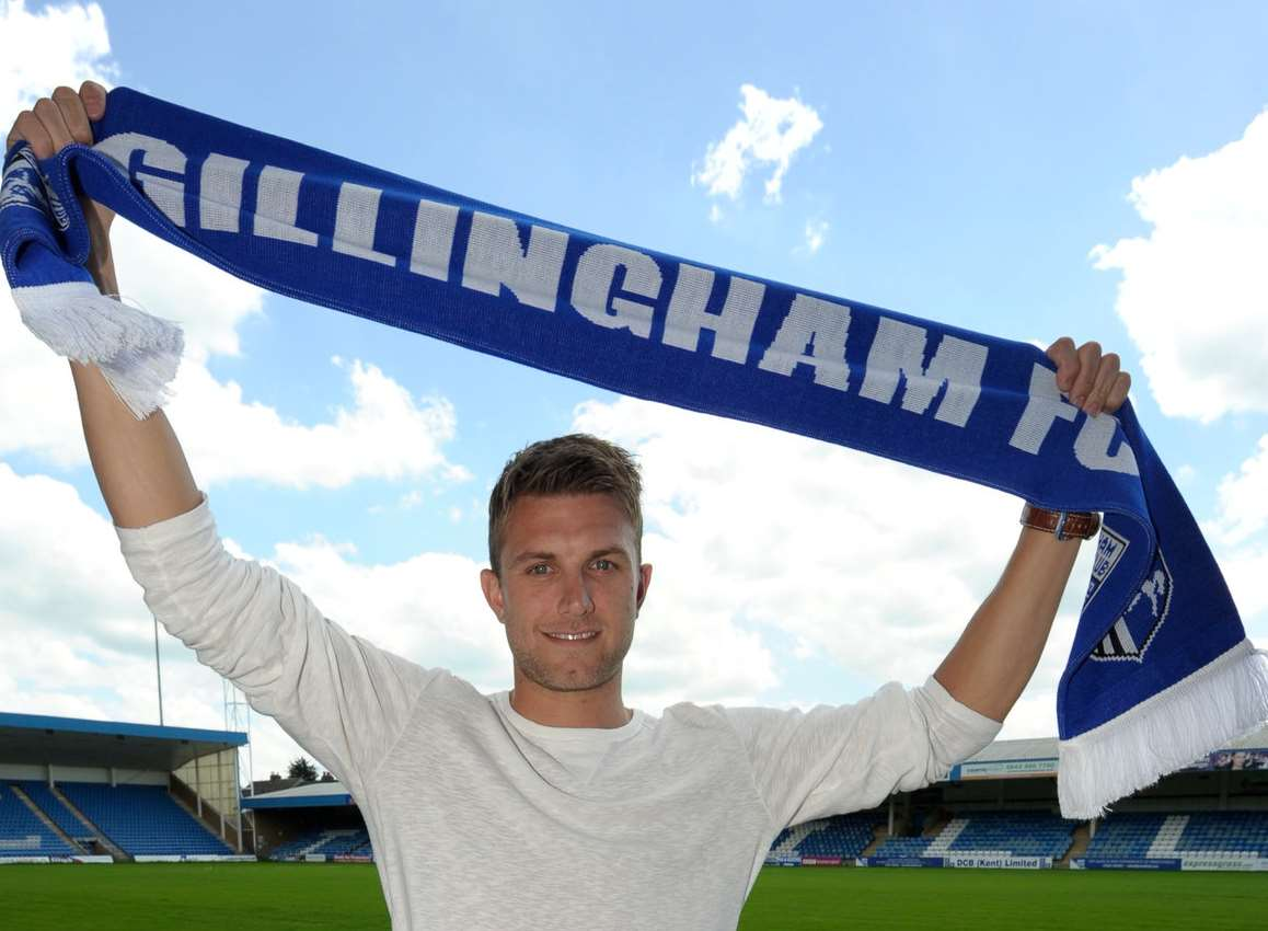 Doug Loft signed on at Gillingham this week Picture Exclusive: Andy Payton