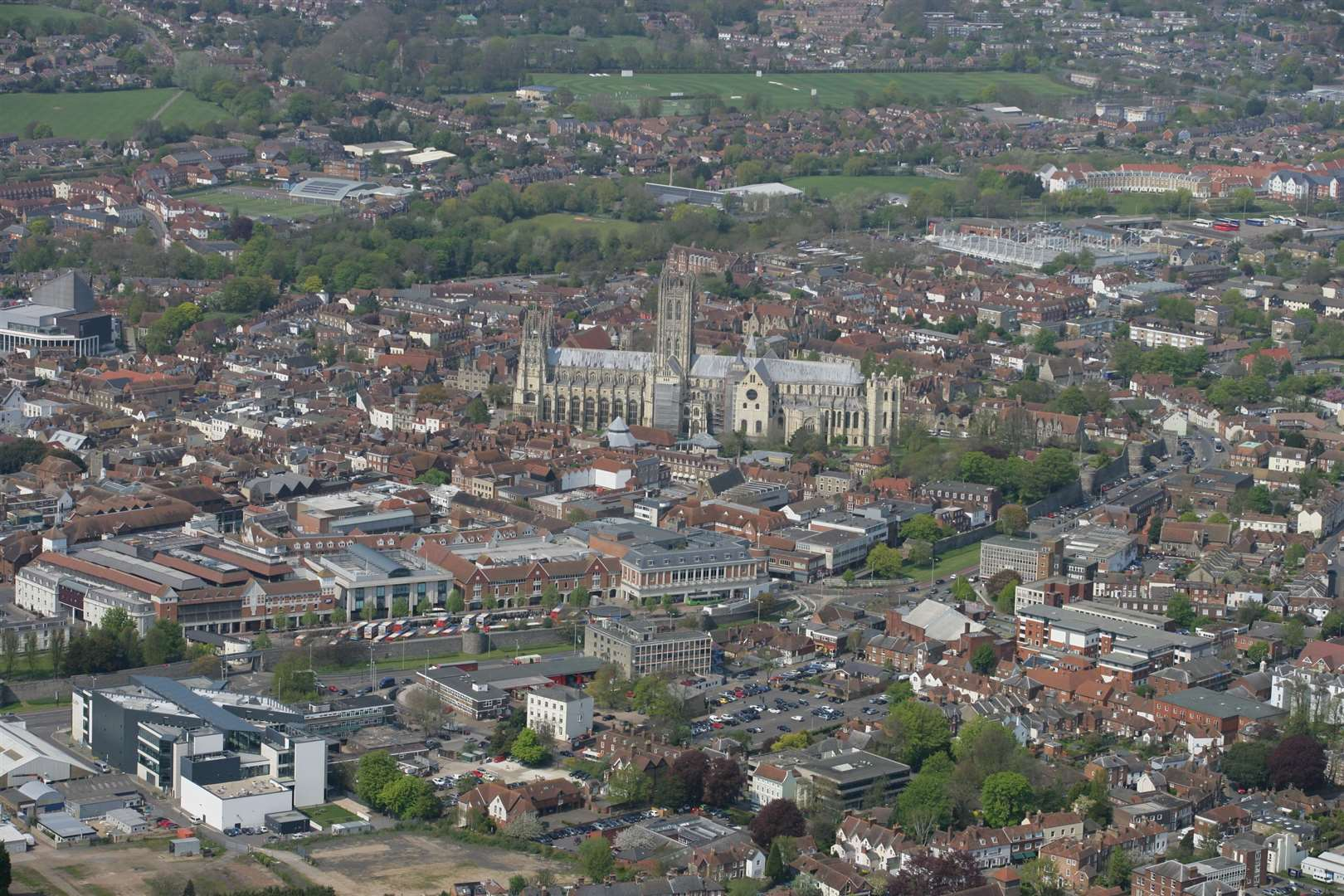 Canterbury has seen the biggest increase in property values in Kent. Picture: Martin Apps