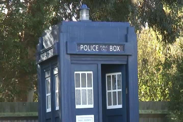 The Tardis in all its glory