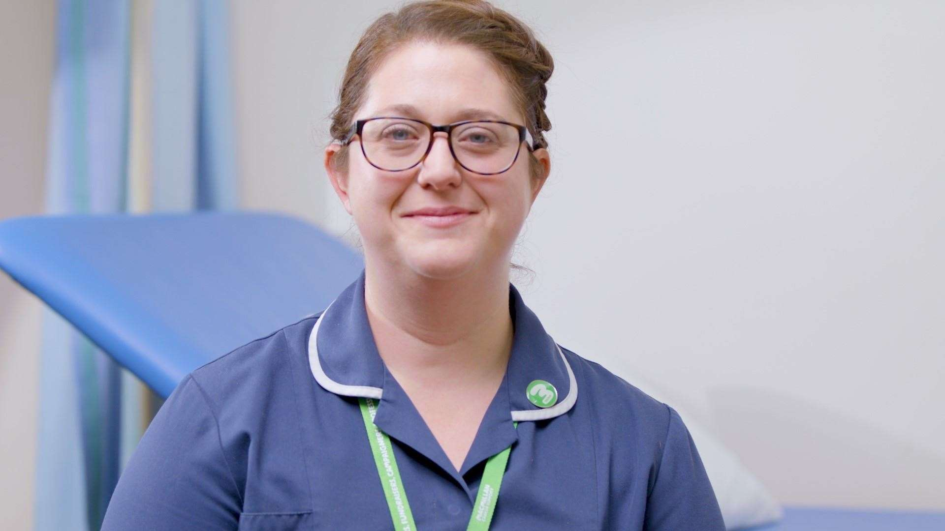 Kim Peate, East Kent Macmillan Krankenschwester