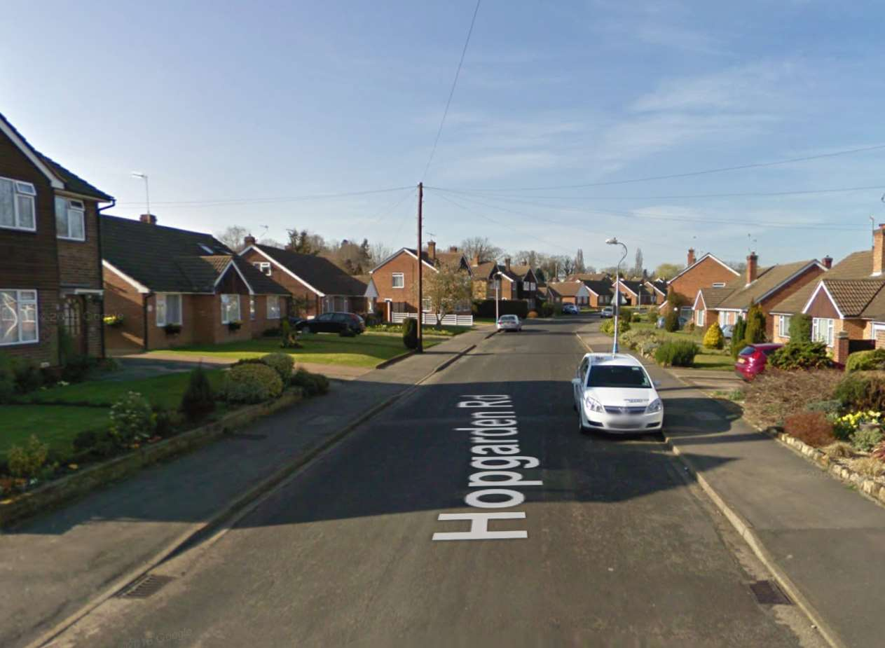 Hopgarden Road in Tonbridge. Picture: Google Streetview