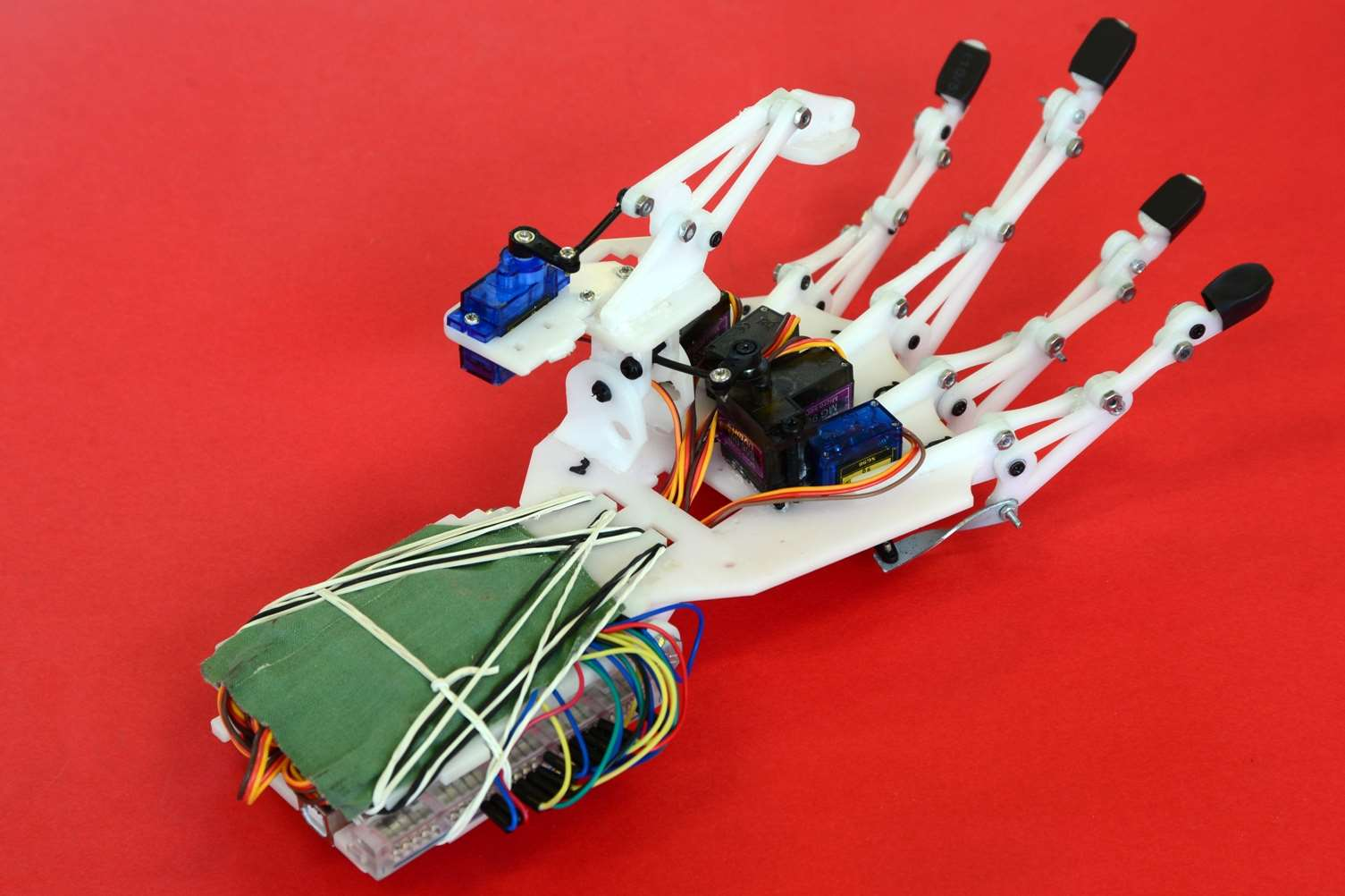 The low cost robotic arm is the latest project by Kent College's engineering team.