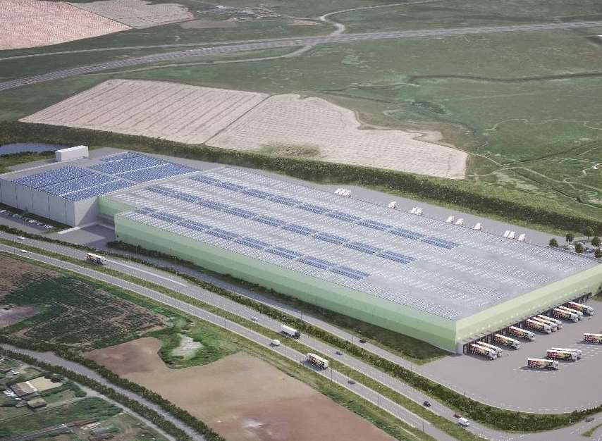 Aldi Submits Plans For 163 50m Distribution Centre At Neats