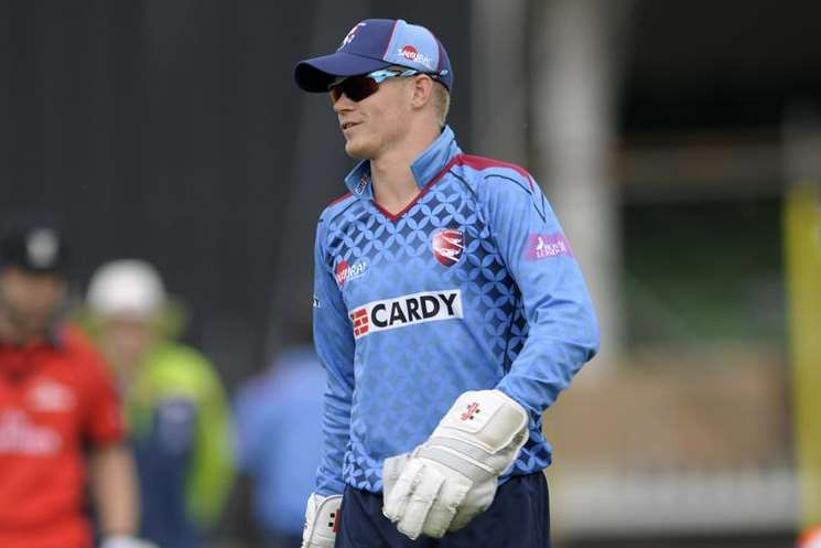 Sam Billings Picture: Barry Goodwin