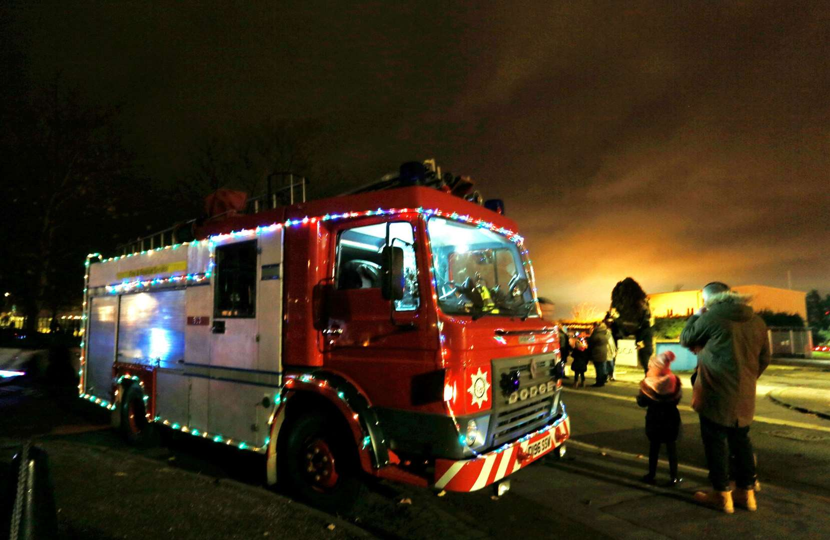 Queenborough's annual Christmas lantern parade. Picture: Phil Lee