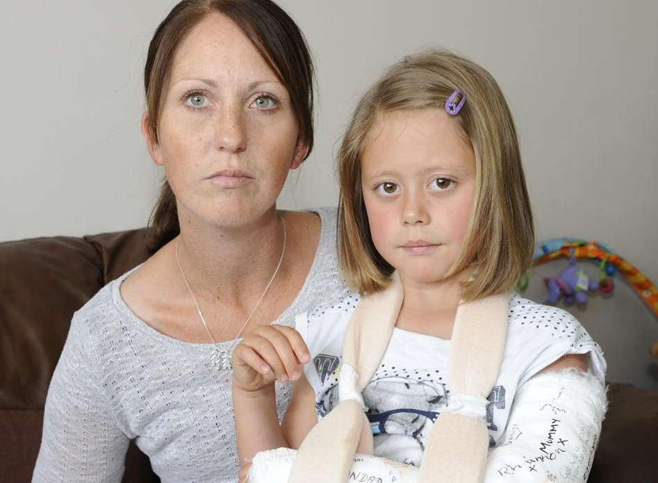 Emma Kirwan is angry that ambulance operators took minutes to answer her 999 call for daughter Alisha