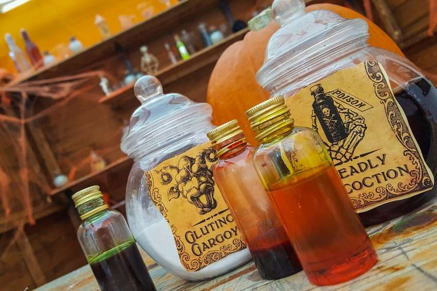 Little ones can learn about lotions and potions at Canterbury Tales' Spook Academy