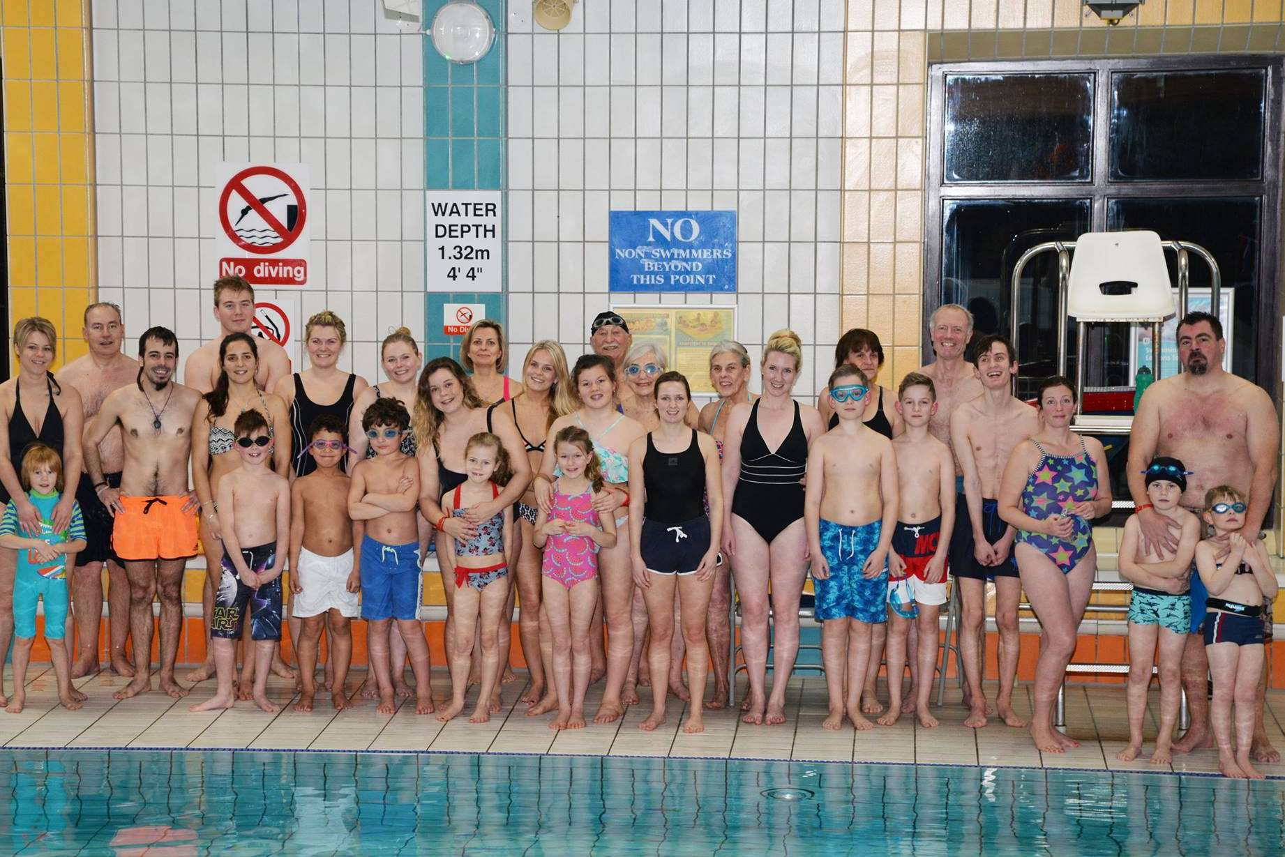 The fund-raisers at Tonbridge Leisure Centre: Picture courtesy of Emma Hall Photography