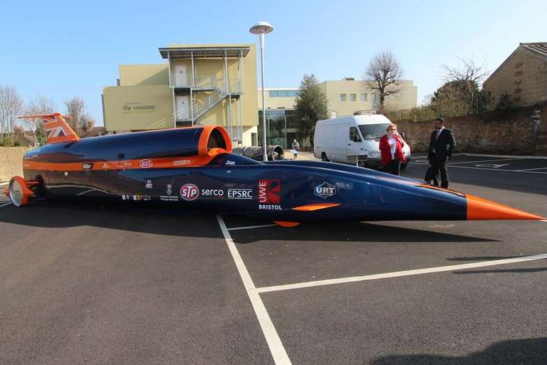 The Bloodhound supersonic car