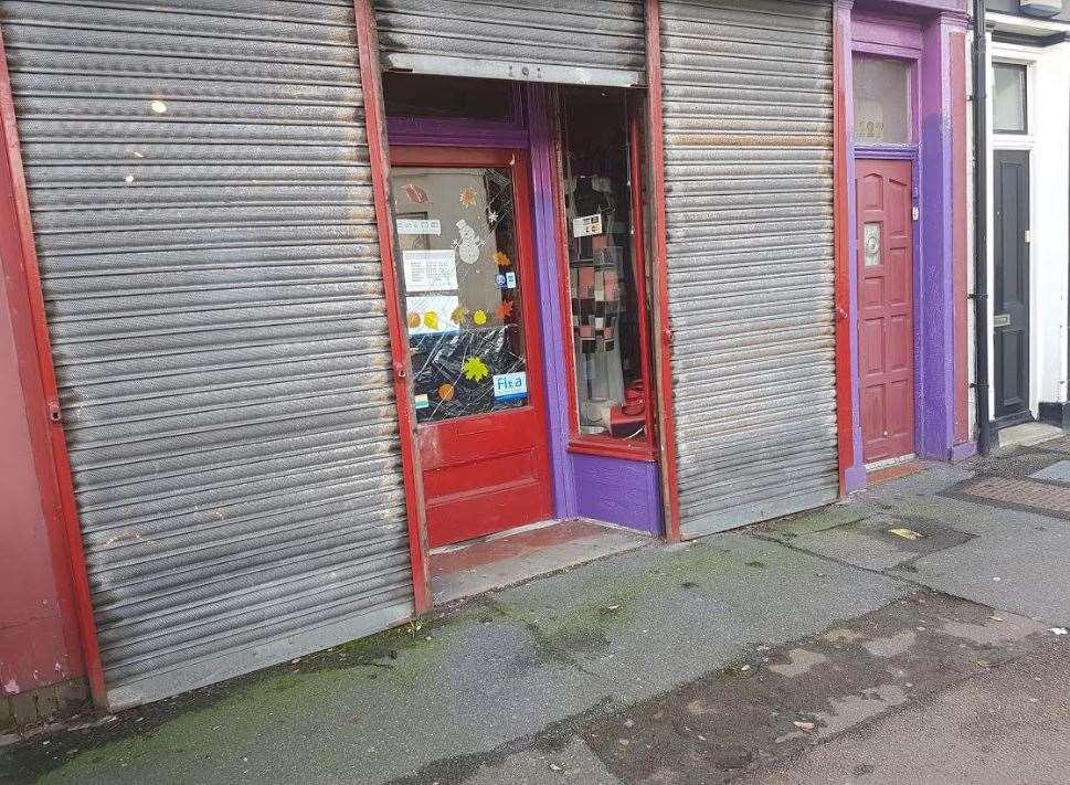 Folkestone transvestite shop