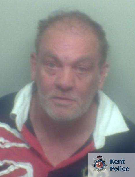 Simon Cuthbert, 54, of no fixed address has been jailed for four and a half years