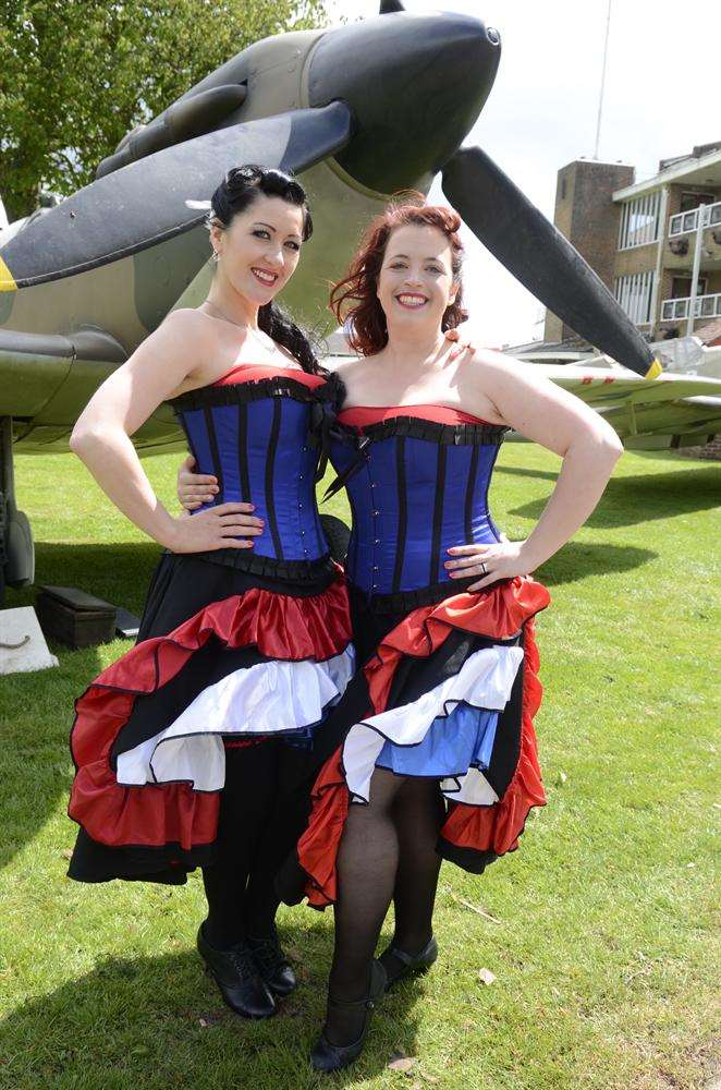 The launch of the War and Peace Revival at Folkestone Racecourse