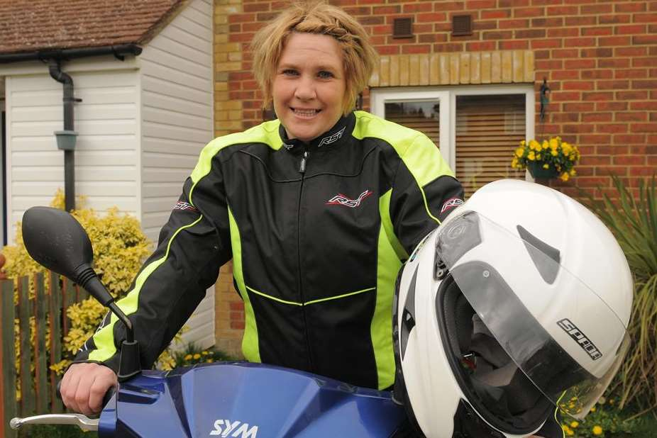 Jobseeker Caroline Holland is one of those to use the Wheels 2 Work project