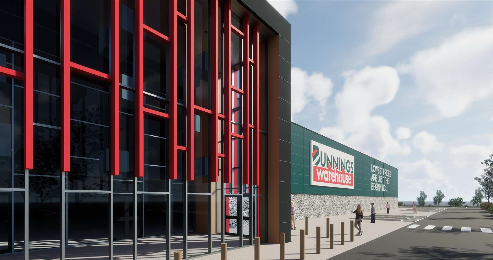 How the Bunnings store could look (1392733)
