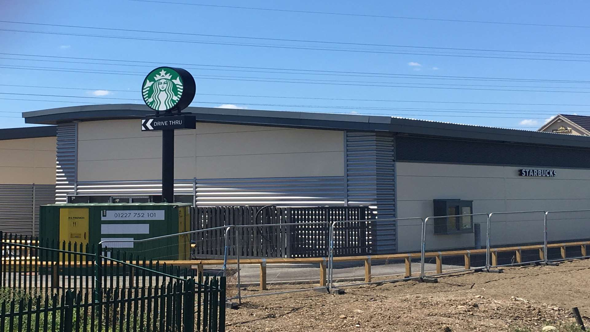 Starbucks is among the new businesses about to open at Neats Court Retail Park in Queenborough.