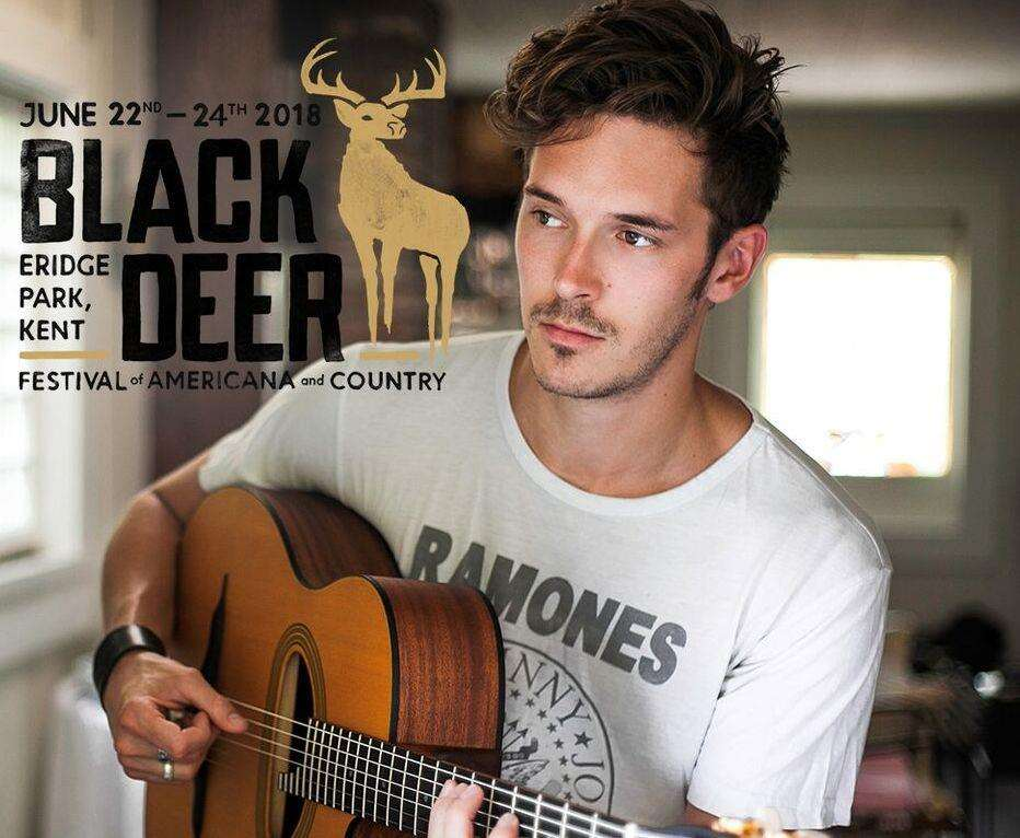 Sam Palladio will be at Black Deer Festival