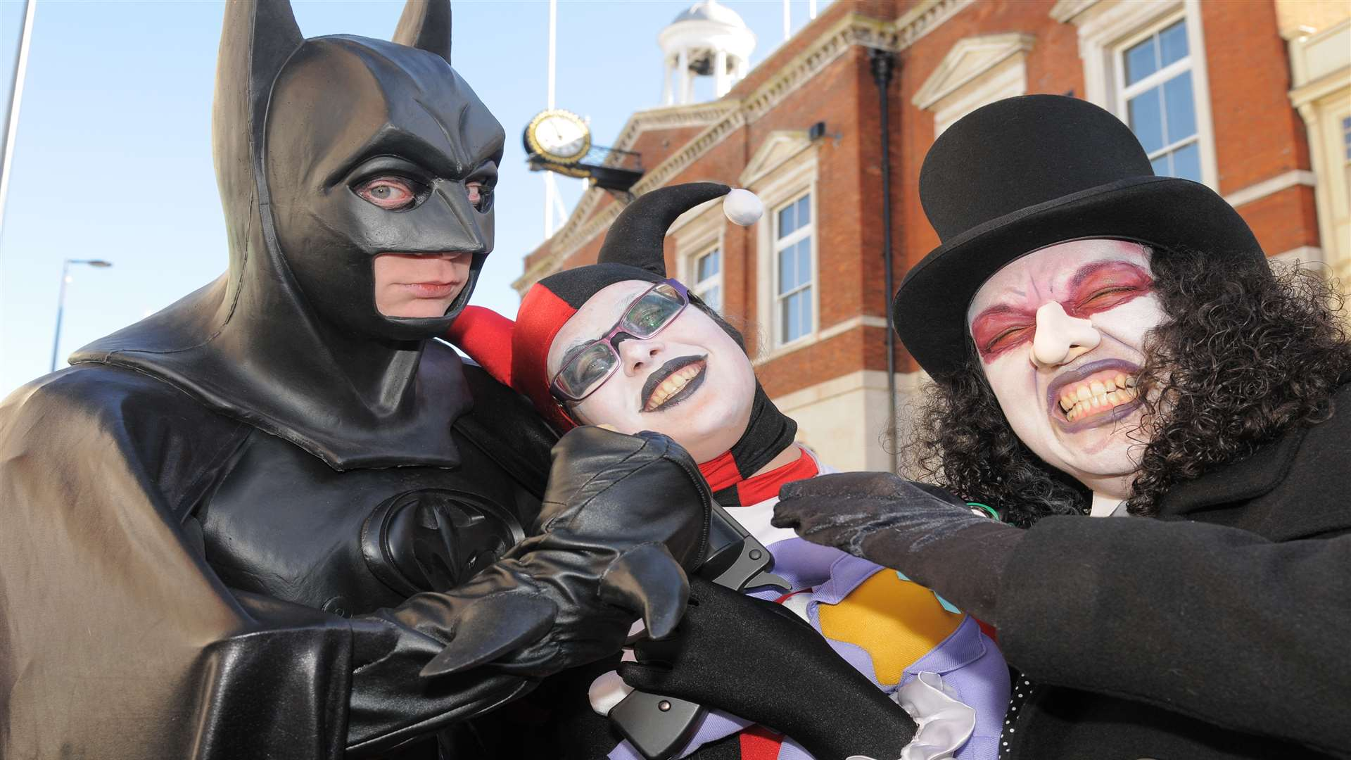 Sci fi characters gather for the Demoncon convention in Maidstone