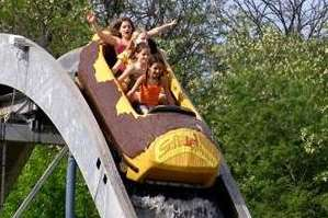 The log flume came from Sofia Land in Bulgaria