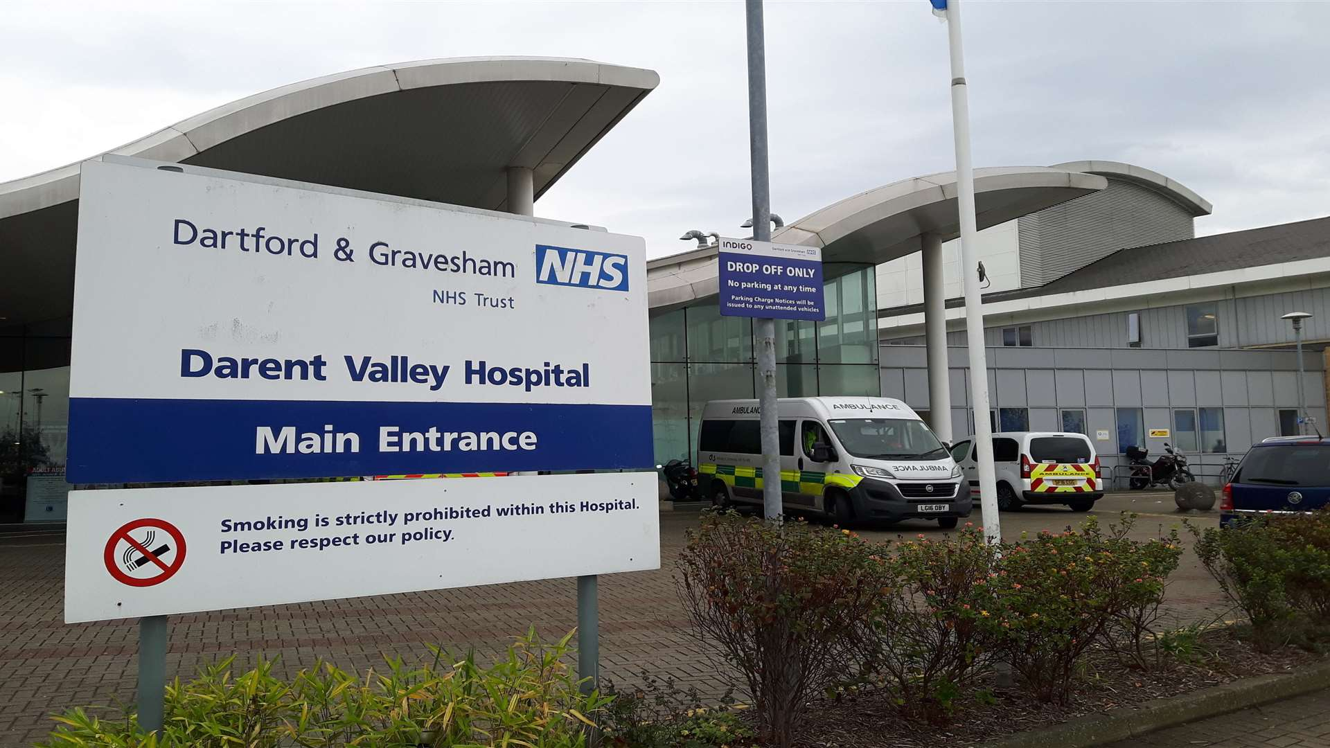 Carillion provided services at Darent Valley Hospital in Dartford