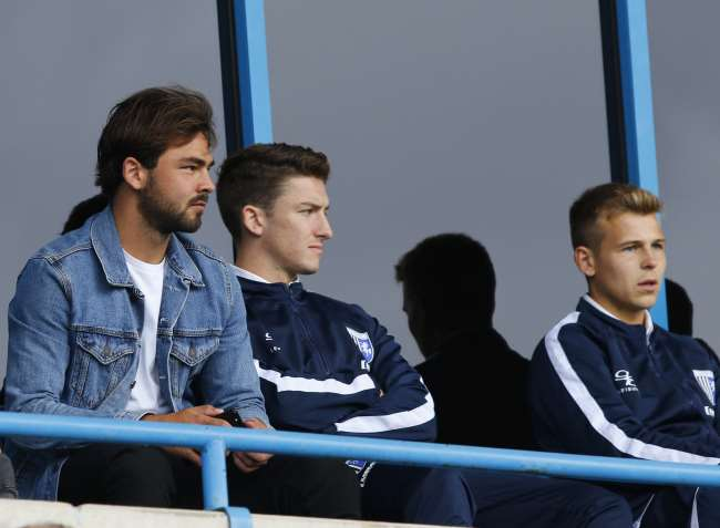 Bradley Dack was in the crowd watching on Saturday Picture: Andy Jones
