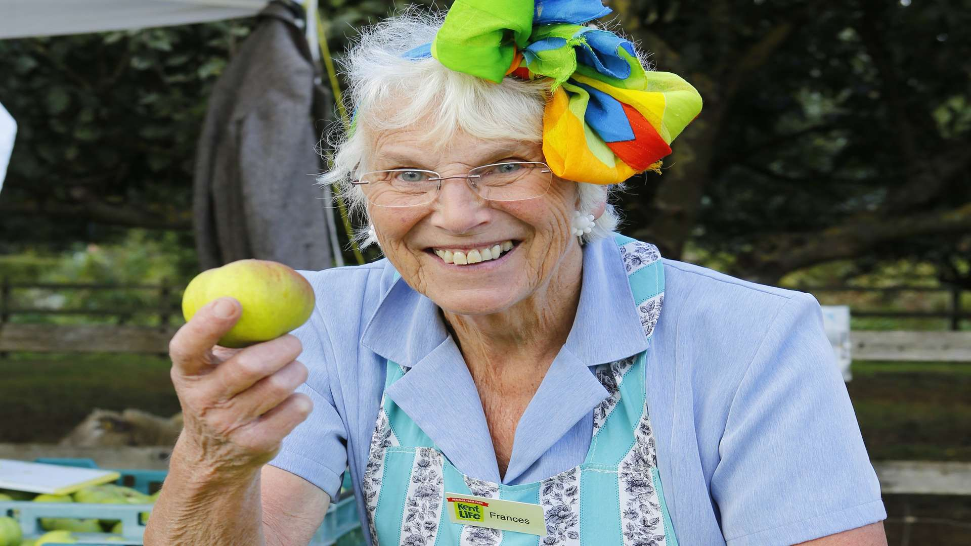Frances Maddison-Roberts at Kent Life's Apple and Cider Fayre