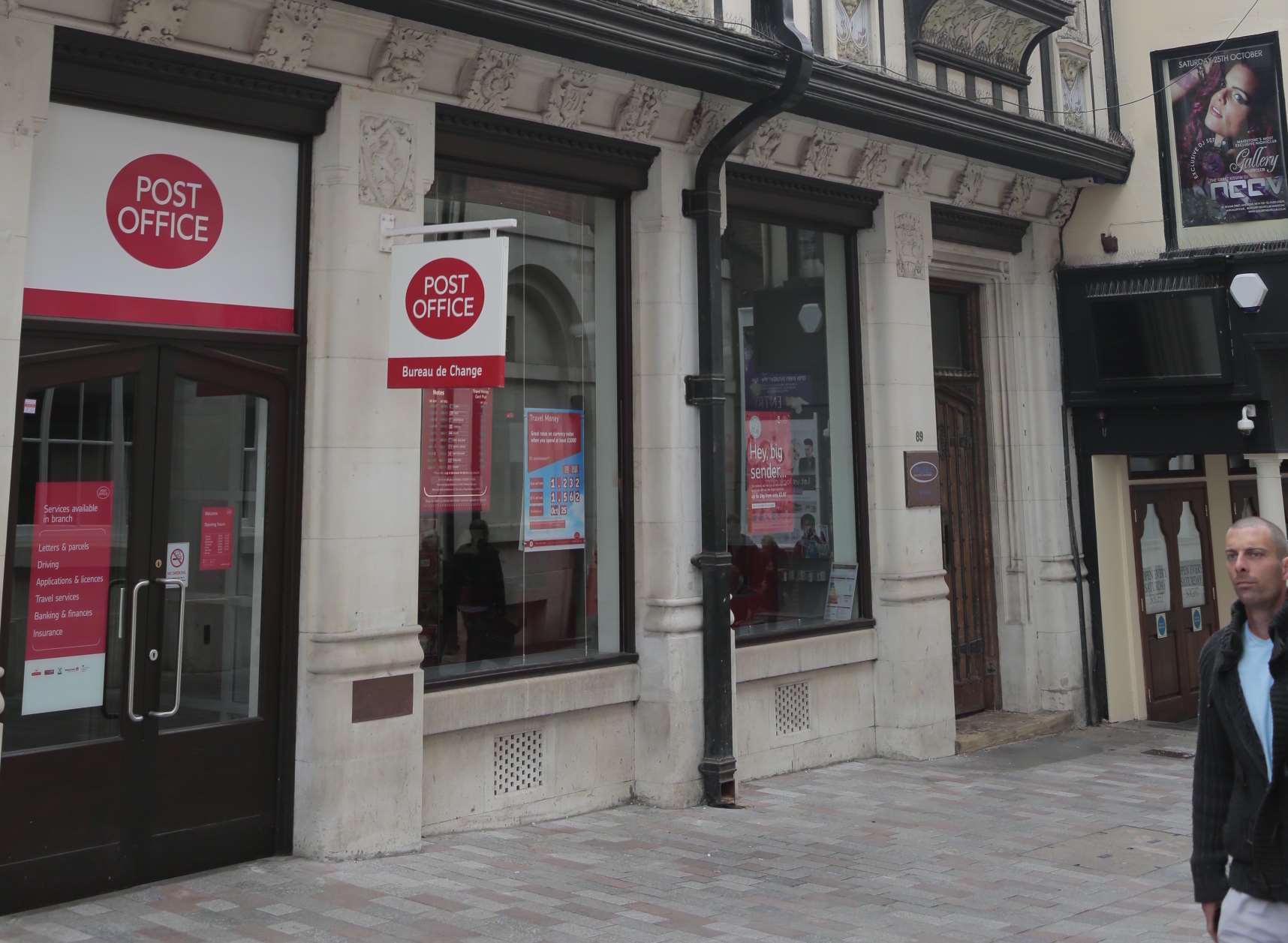 Maidstone town post office to close and service moved to whsmith in week street - Internet banking post office ...