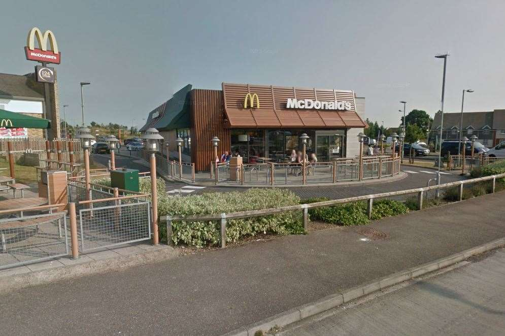 Minster service McDonald's. Pic: Google maps