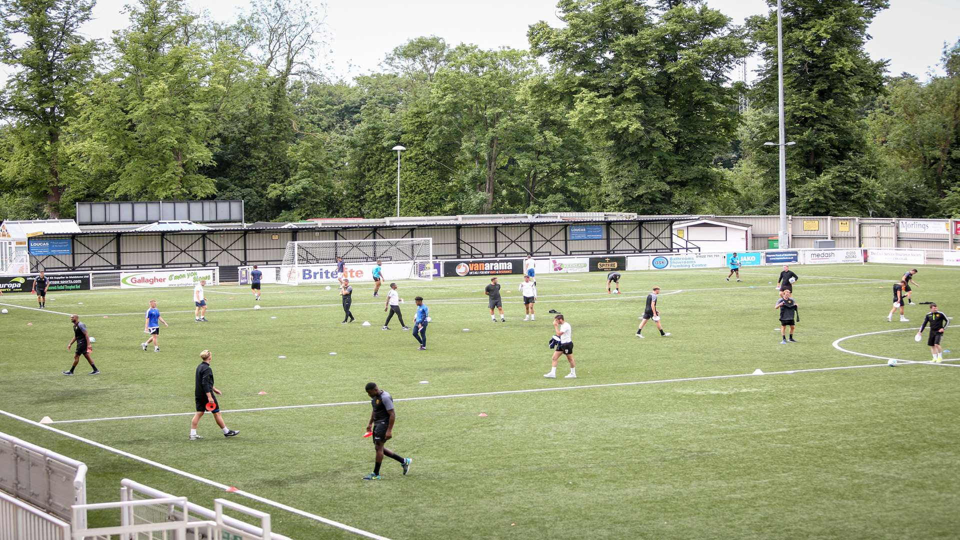 Maidstone United plans to expand the stadium
