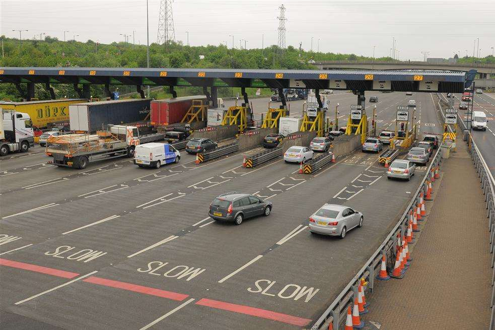 The Dartford Crossing. File picture