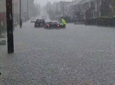 Clean Up Begins After Major Storm Causes Flash Flood Chaos