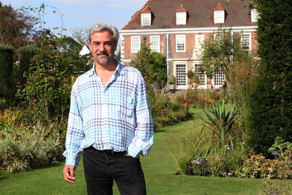 Dominic Parker, owner of the Secret Gardens at the Salutation in Sandwich