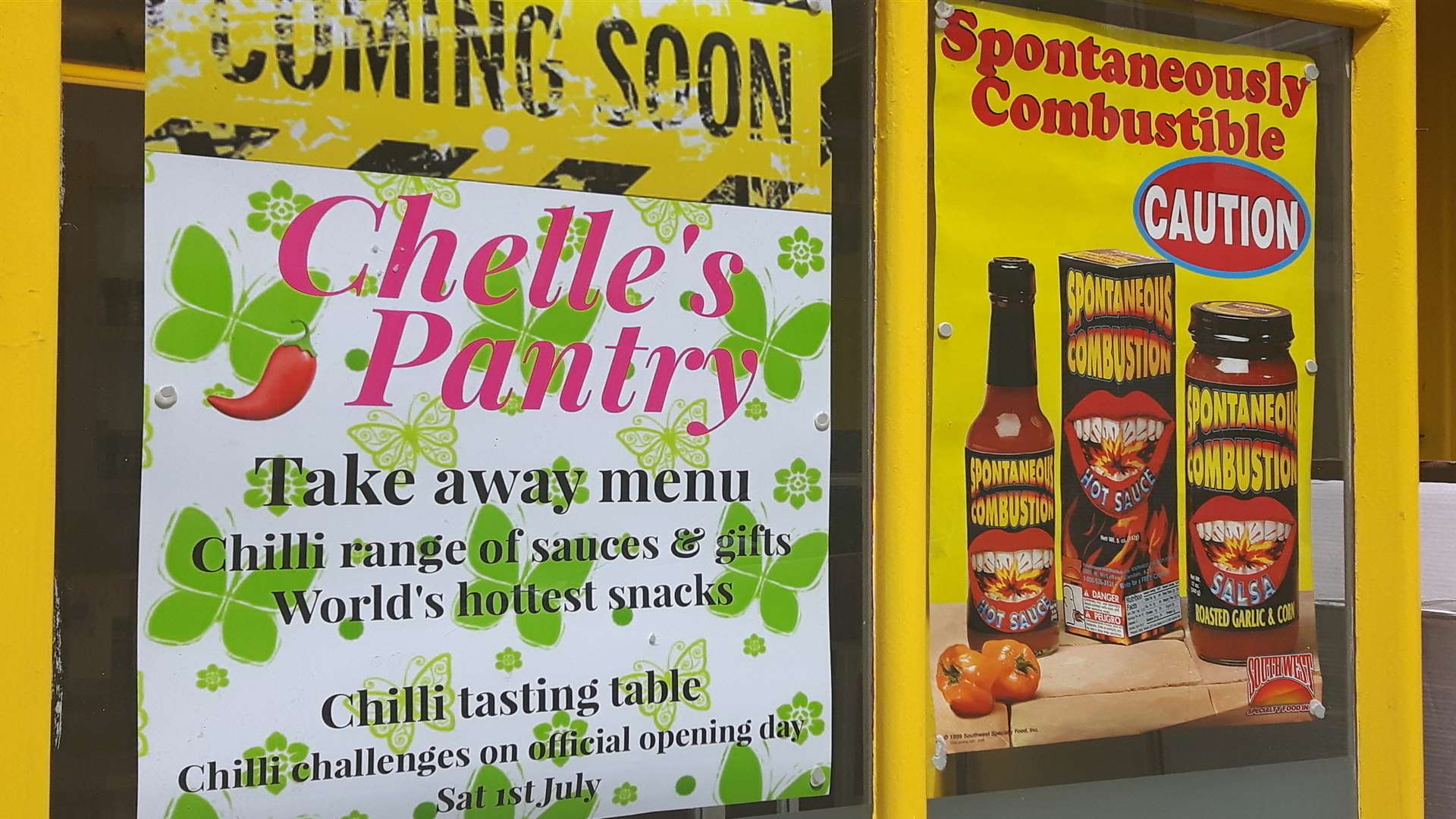 Chelle's Pantry in Rochester High Street