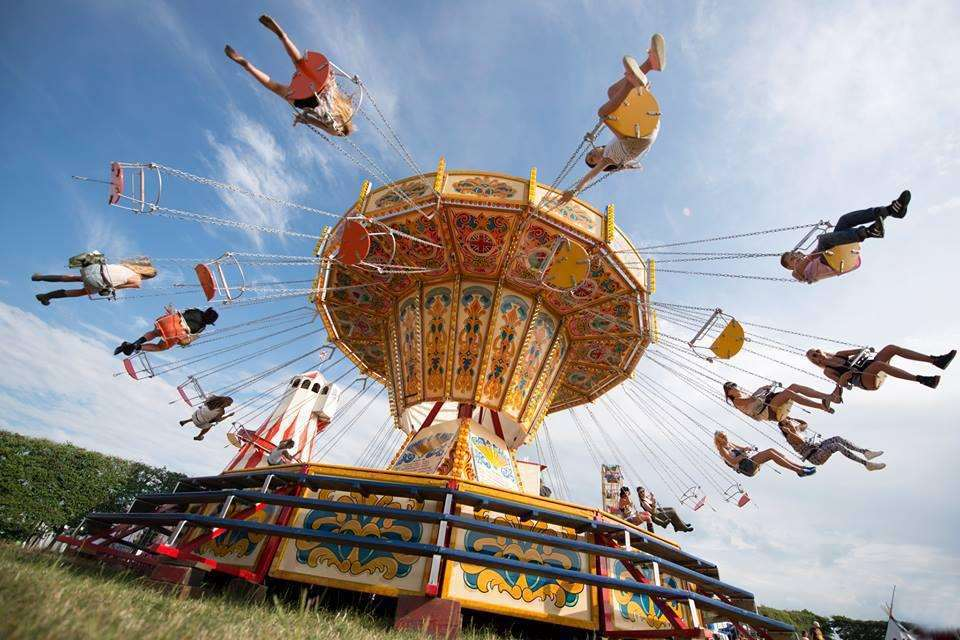 Lounge on the Farm will feature fairground rides