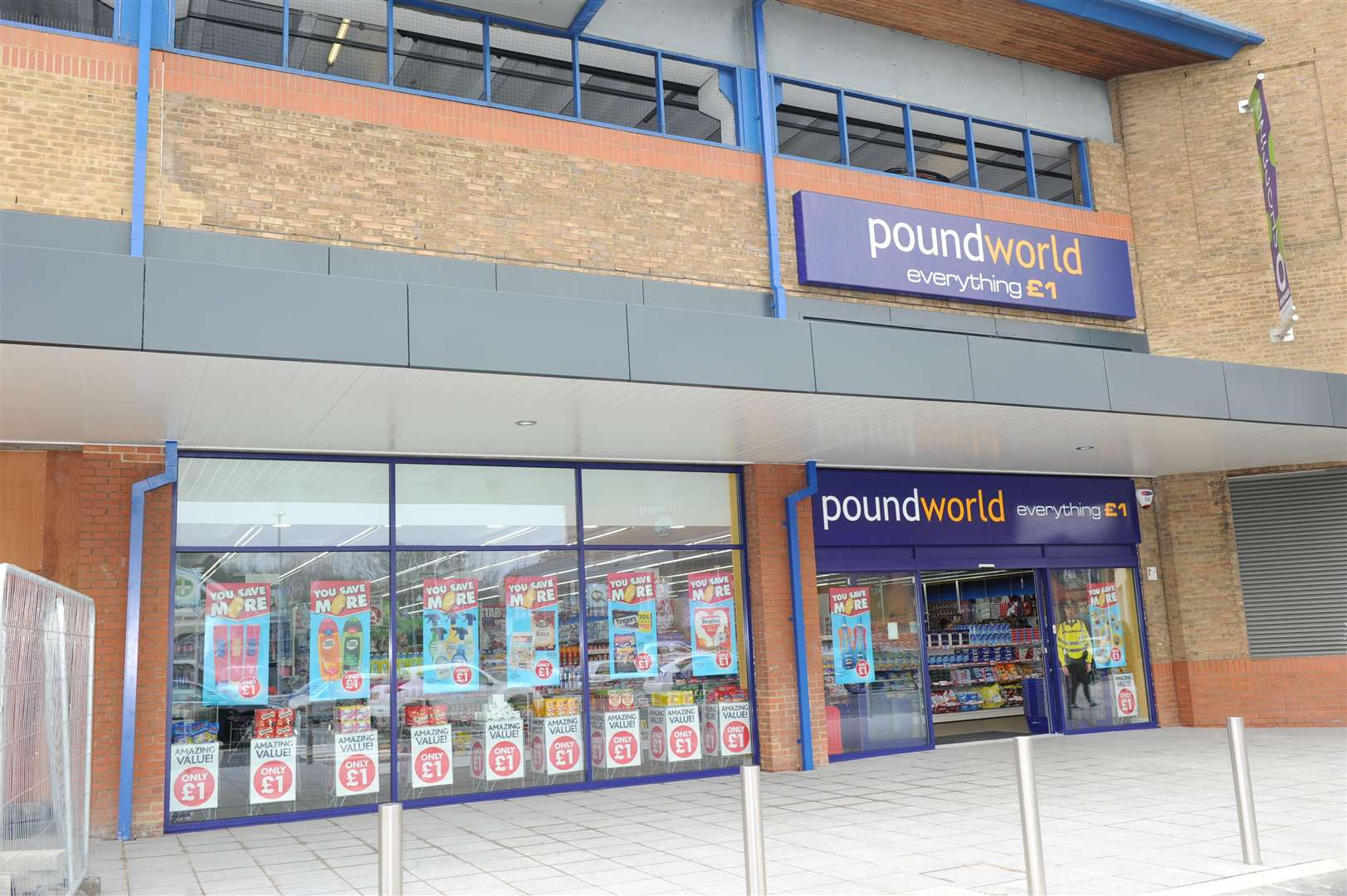 Poundworld at Orchards Shopping Centre in Dartford