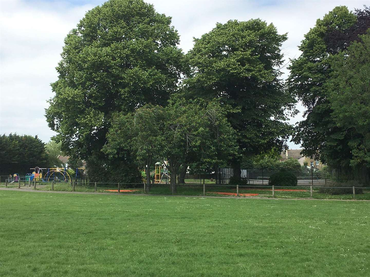 Woodlands Park, Gravesend, where the assault took place. (2448832)