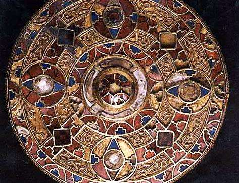 The remarkable Kingston brooch  create in a Anglo Saxon grave near Canterbury in 1771