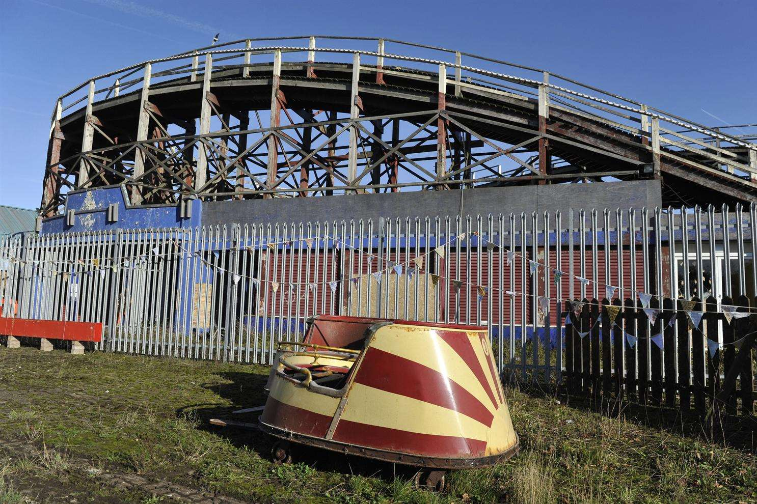 The Reimagined Dreamland will make use of all the equipment left over after it closed in 2006