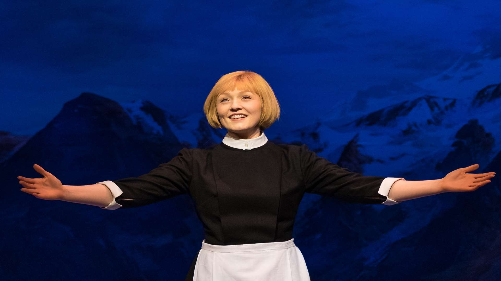 Lucy O'Byrne in the Sound of Music, coming to Bromley and Tunbridge Wells