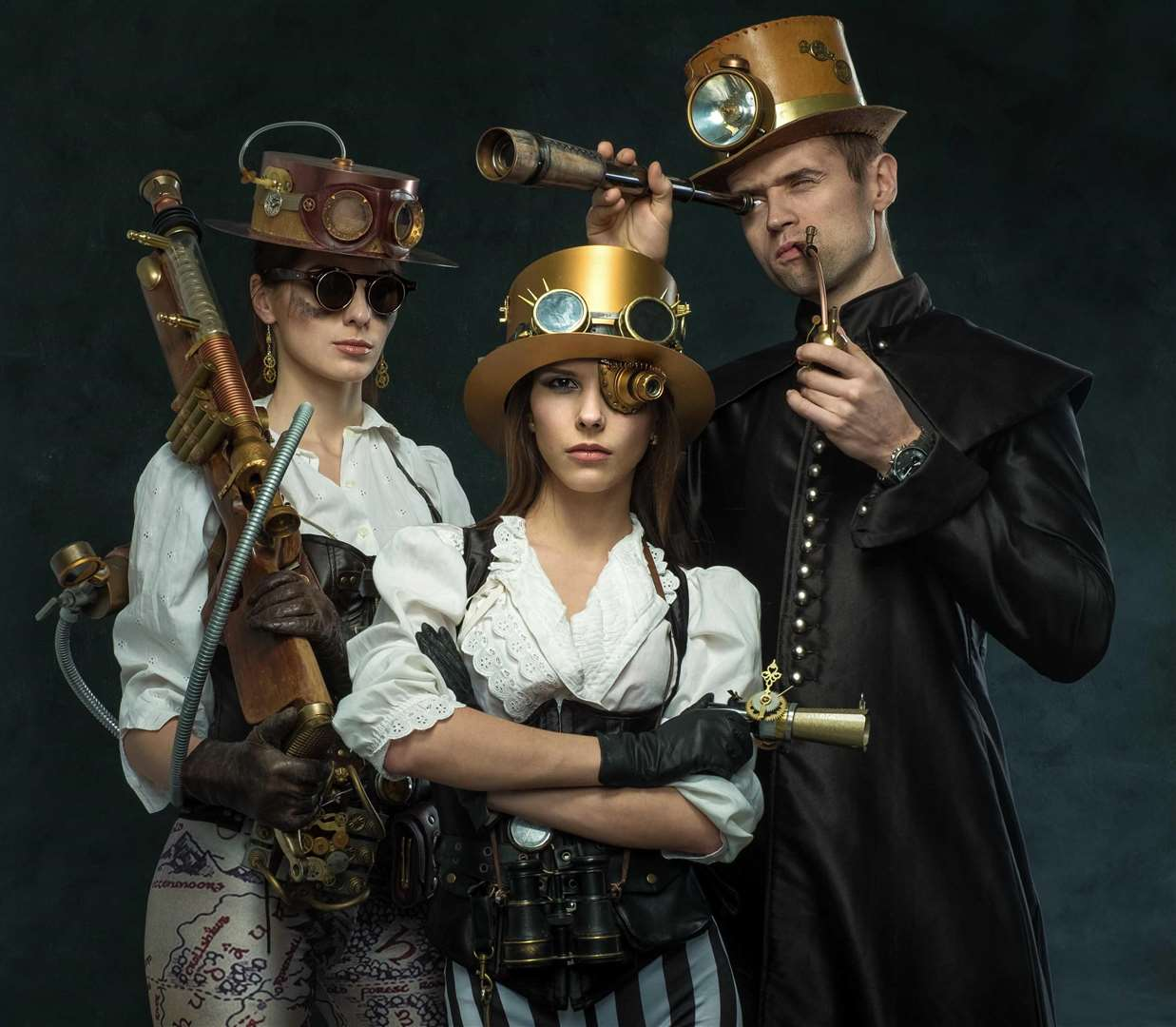Immerse yourself in the world of steampunks at Maidstone Museum