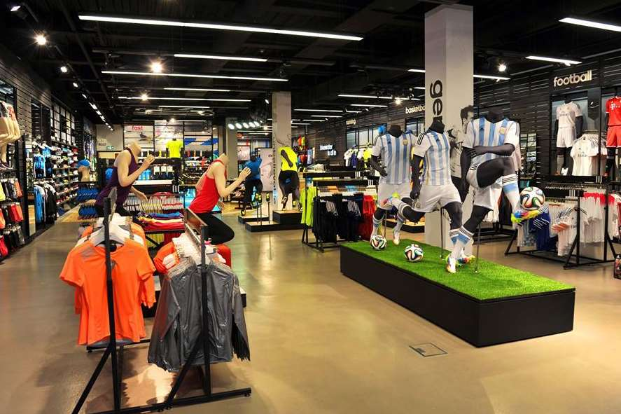 The new Adidas HomeCourt store in Bluewater is focused on football to tie in with the World Cup