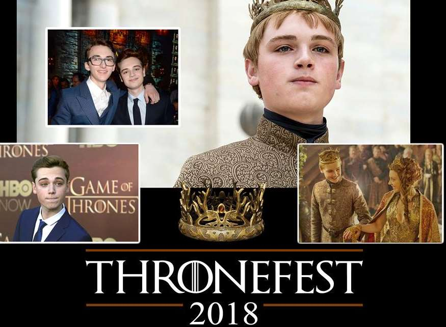 Dean Charles-Chapman will appear at Thronefest