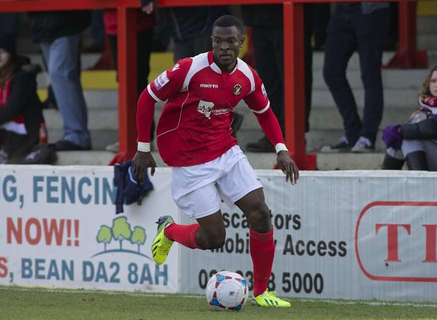 Anthony Cook Picture: Andy Payton