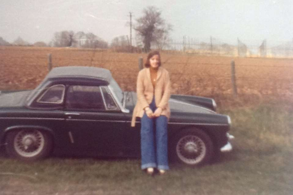 Zoe Snell and her husband Terry used the car on their wedding day almost 40 years ago