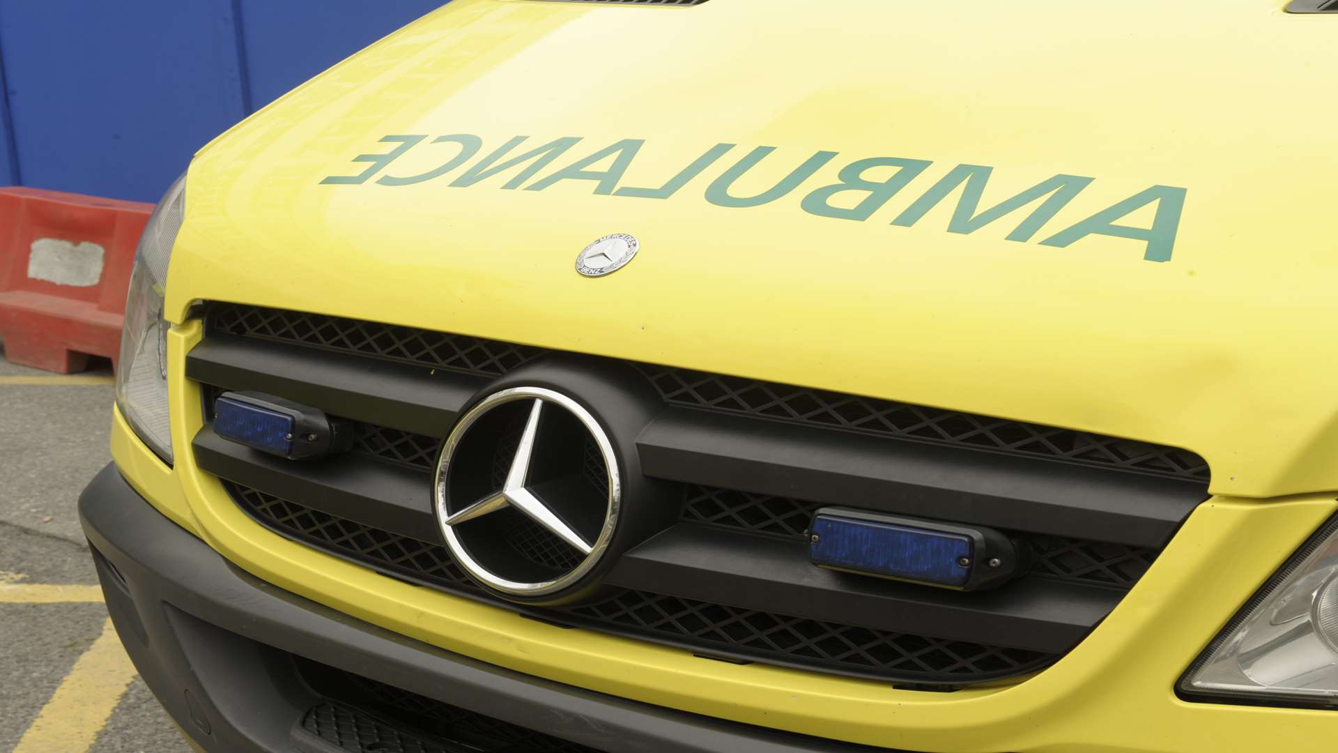 Only two thirds of ambulances reach emergency calls in the eight minute target