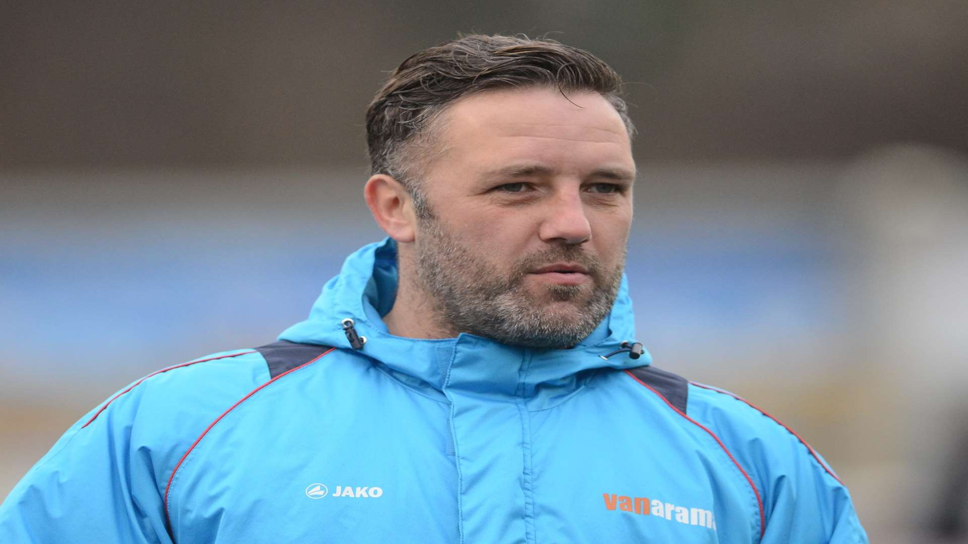 Maidstone manager Jay Saunders Picture: Gary Browne