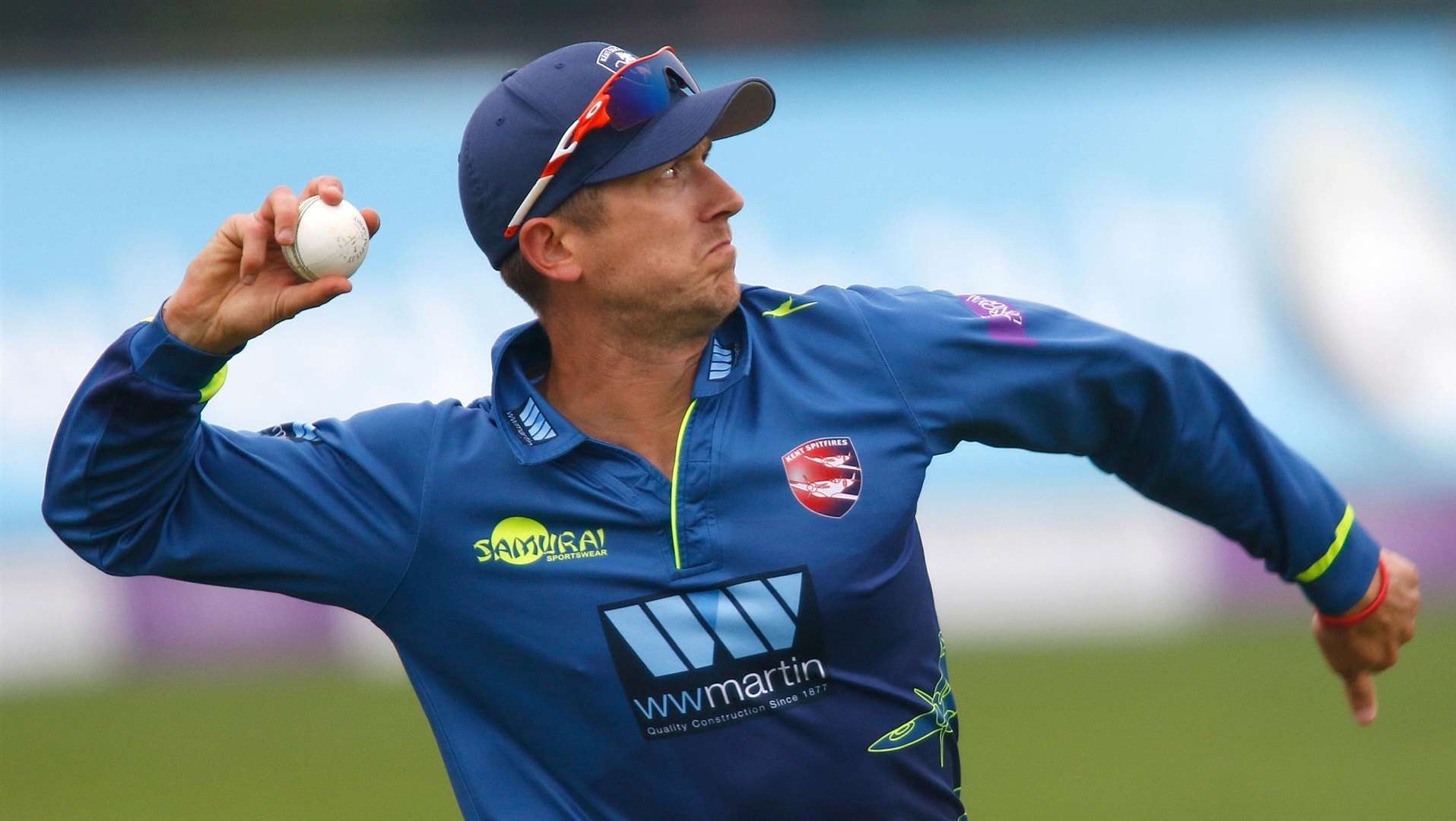 Joe Denly is expected to captain Kent against Nottinghamshire. Picture: Andy Jones