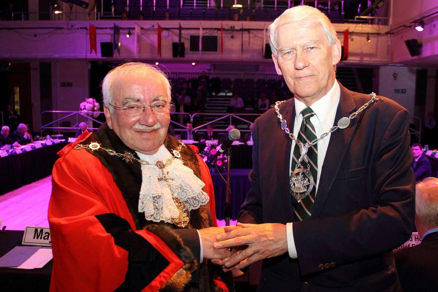 Cllr David Hurley was announced as the new deputy mayor of Gravesham. Picture: Gravesham Borough Council