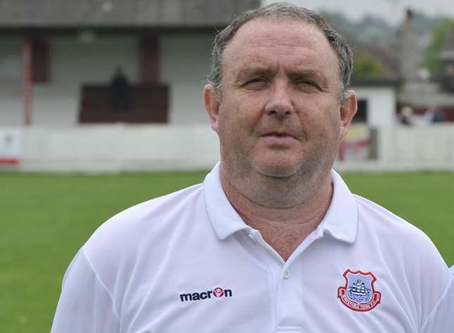 Whitstable Town joint boss Danny Ward
