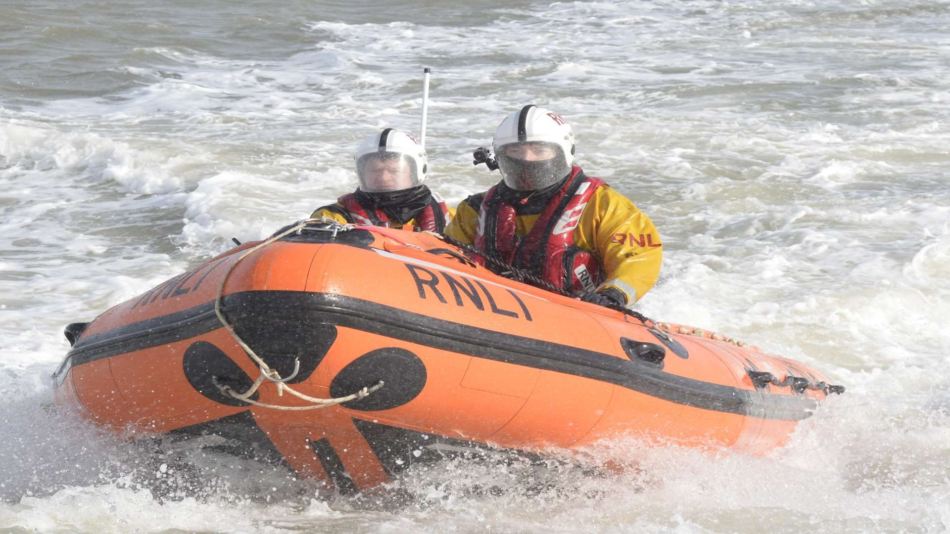 Gravesend RNLI was deployed to look for a person in distress.